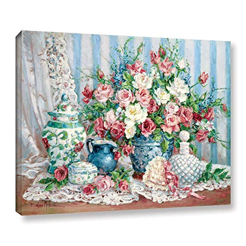 ArtWall Barbara Mock's Roses & Romance, Gallery Wrapped Canvas 08x10