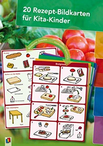 20 Rezept-Bildkarten für Kita-Kinder Karten – 1. April 2012 Verlag an der Ruhr 383460934X Kind / Kochen Backen