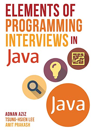 (Elements of Programming Interviews in Java: The Insiders' Guide )
