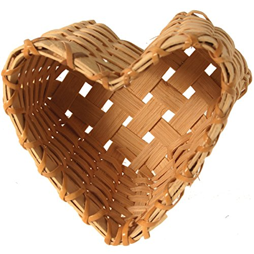The Mini Heart Basket Weaving Kit by V.I. Reed & Cane, Inc.