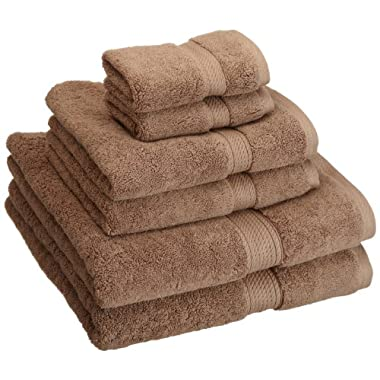 Superior 900 Gram Egyptian Cotton 6-Piece Towel Set, Latte