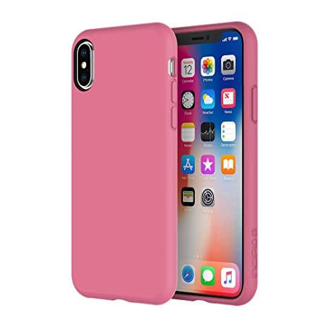 Amazon.com: Incipio Siliskin iPhone X Case with Soft Silicone Shell and Micro-Texture Bumper for iPhone X - Maroon Berry: Cell Phones & Accessories