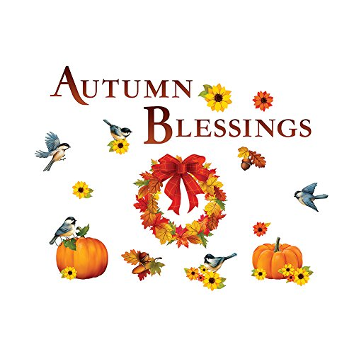 Collections Etc Autumn Blessings Garage Door Magnets by Collections Etc
