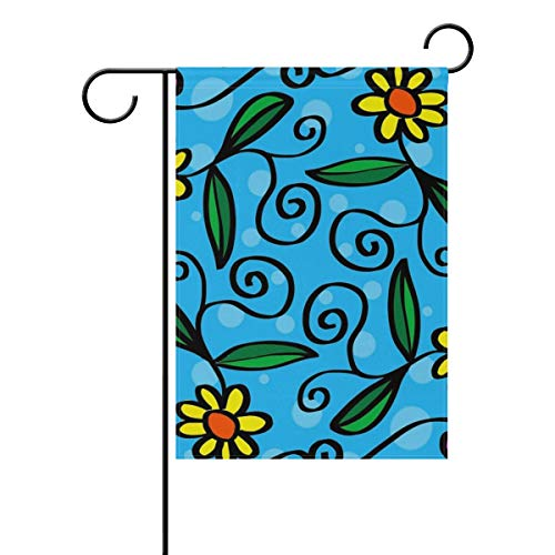 LeeBelle Garden Flags DIY Fashion Personality, 12''×18''&28''x40'' 2-Size Holiday Garden Flags, Suitable for Outdoor Season Decorations for All Seasons and Holidays]()