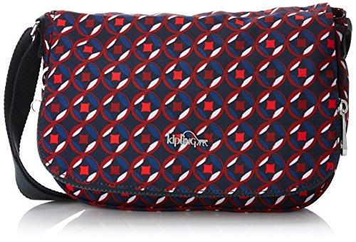 Kipling Earthbeat Bandoulière Sacs Multicolore Red Print Tile S rrwdUa
