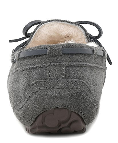 Grey Women's PAIRS Moccasins Auzy DREAM 02 Slippers Winter xYUfTqqwH