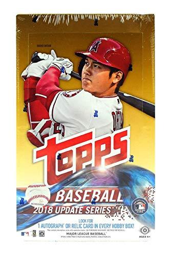 2018 Topps Update Series Baseball Hobby Box (36 Packs/10 Cards 1 Silver Pack) -