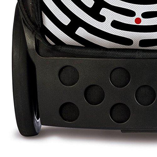 Nikidom Roller XL Labyrinth Mochila Escolar con Carro, Color Negro y Blanco: Amazon.es: Equipaje