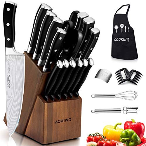 21 Piece Kitchen Stainless Professional Full Tang product image