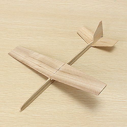 Hand Throwing Assembly Wooden Model Plane DIY Handmade Plane Model