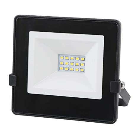 Foco LED Negro 10W Proyector LED Exterior IP65 Impermeable, Súper ...