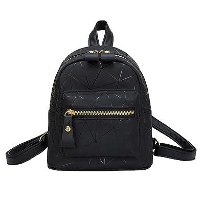 Women s Leather Backpack Handbags Ladies Daypacks Girls Vintage School  Travel Bag 50a195987297e