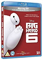 Big Hero 6 [Blu-Ray 3D + 2D] [Region Free] [UK Import]
