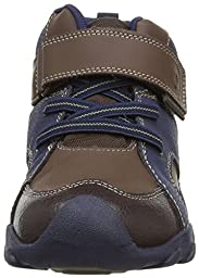 pediped Flex Justin Mid-Cut Boot (Toddler/Little Kid/Big Kid), Brown/Navy, 26 EU (9-9.5 E US Little Kid)