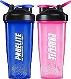 ProElite Protein Shaker Mixer Bottle (Pack of 2)