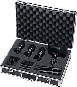 akg pro audio groove pack high performance drum microphone set musical instruments. Black Bedroom Furniture Sets. Home Design Ideas