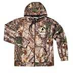 NFL Washington Redskins Boys Champion Realtree Xtra Polyester Tech Fleece Full Zip Hoodie, 3X, Camo