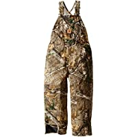 Carhartt Boys Quilt Lined Washed Work Camo Bib Overalls (8-20)