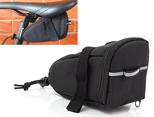 HUKITECH Geräumige Fahrradtasche (2 Stück) Satteltasche mit Reißverschluss