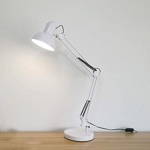Lámpara de escritorio con brazo articulado, Lámpara de trabajo ...