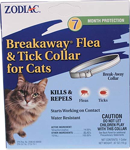 ZODIAC 7 MONTH FLEA & TICK COLLAR FOR CATS, Part 100520396,