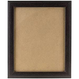 Craig Frames 23247778 17 by 22-Inch Picture Frame, Smooth Wrap Finish, 1-Inch Wide, Brazilian Walnut Brown