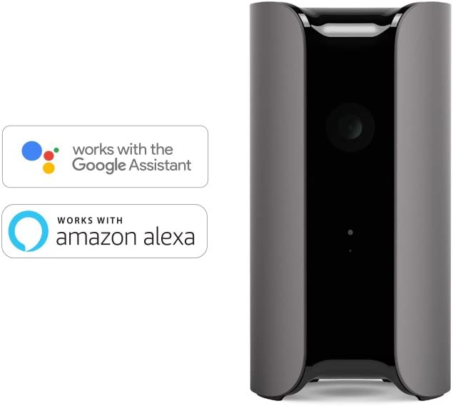Award-winning Design Pets//Elder//Baby Monitoring Works with Alexa Motion//Person Alerts Canary View Indoor 1080p HD Security Camera with Wide-angle Lens
