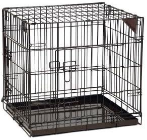 Marrón Perros Box jaula transporte perros Caja de transporte ...