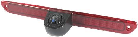 Misayaee voiture Troisi/ème mont/é sur le toit haut cam/éra lampe de frein lumi/ère de frein Vue arri/ère Cam/éra de recul pour MB W906 Sprinter VW CRAFTER