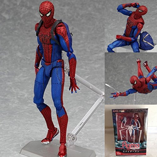 "6"" Marvel Spiderman Figma PVC Spider Man Action Hero Figure Spider-man"