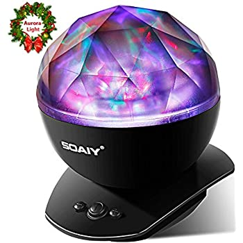 Amazon.com: Lisnec Proyector de luz para bebé, proyector de ...
