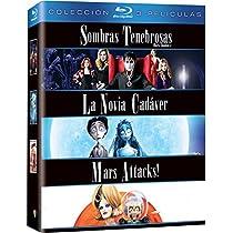 Pack Tim Burton: Sombras Tenebrosas + La Novia Cadáver + Mars ...