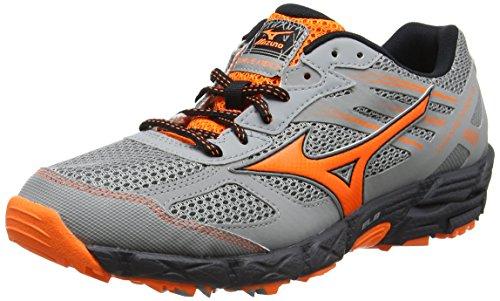 Mizuno SS17 Mens Wave KIEN 3 Trail Running Shoes Grey