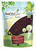 Organic Acai Berry Powder by Food to Live (Non-GMO, Raw, Vegan, Freeze-Dried, Unsweetened, Unsulfured, Bulk) — 1 Pound