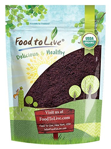 Organic Acai Berry Powder, 2 Pounds - Non-GMO, Raw, Vegan, Freeze-Dried, Unsweetened, Unsulfured, Bulk by Food to Live (Image #9)