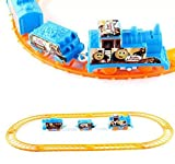 Beautyer Electric Rail Car Set Train Vehicle