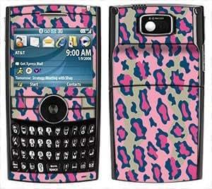 Pink Leopard Print Pattern Skin for Samsung Blackjack II 2 i616 or i617 Phone