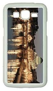 rubber casetiber river rome PC White case/cover for Samsung Galaxy Grand 2/7106