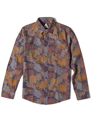Indigo Altamont Blue Yoyogi Ls Shirt Size qtwptO