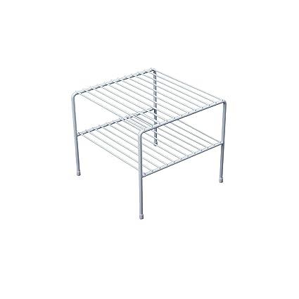 Organized Living Double Shelf White