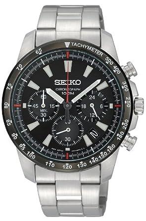 new style 7a258 167b8 [セイコー]SEIKO 腕時計 クロノグラフ 逆輸入 海外モデル SSB031PC メンズ 【逆輸入品】