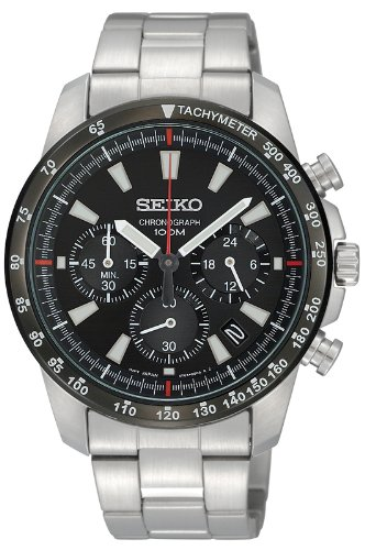 Price comparison product image SEIKO watch chronograph SSB031PC Men (parallel Import)