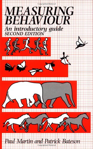 """Measuring Behaviour - An Introductory Guide"" av Paul Martin"
