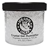Joe Cool Cigar Crystal Gel Humidifier for Cigar Humidors - 4oz...