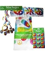 Creative Converting Party Decor Kit, Tye Dye Fun