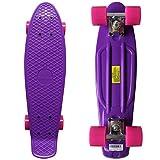 RIMABLE Complete 22' Skateboard PurplePink