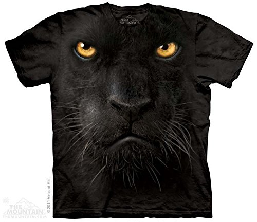 Panther Face (The Mountain Black Panther Face Adult Large)