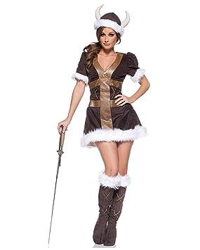 Princesa Disfraz Vikingo Prima XL: Amazon.es: Juguetes y juegos