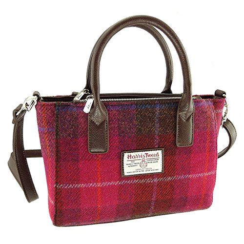 Ladies Tote Col52 Genuine Small LB1228 Various Brora Harris Colours Bag Tweed In wxfEU