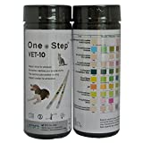 1 x Dog, Cat, Pet Urine Test Strips for pH, Infection, Diabetes Vet Test Parameter Sticks - 50 strips per tub